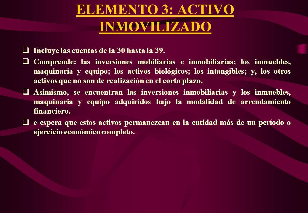 CUENTAS DEL ELEMENTO 3 70