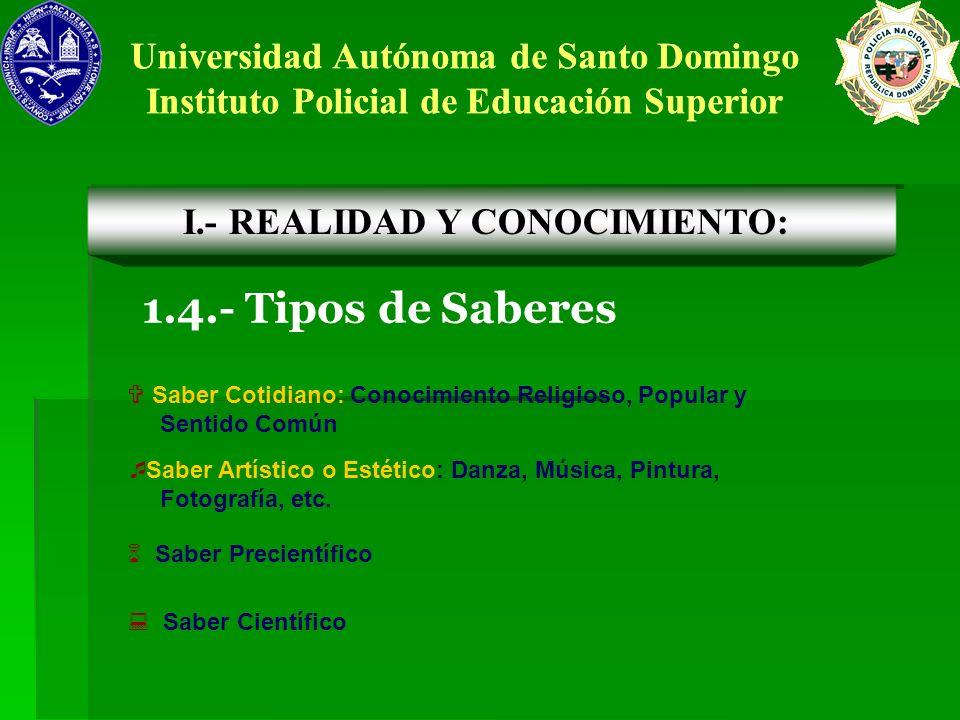 Universidad Autónoma de Santo Domingo Instituto Policial de Educación Superior Universidad Autónoma de Santo Domingo Instituto Policial de Educación S