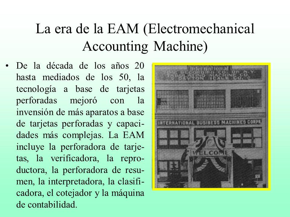 Máquina tabuladora de Hollerith La máquina tabuladora a base de tarjetas perforadas constaba de tres partes: una perforadora manual para capturar los
