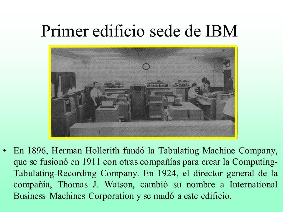 La era de la EAM (Electromechanical Accounting Machine) De la década de los años 20 hasta mediados de los 50, la tecnología a base de tarjetas perfora