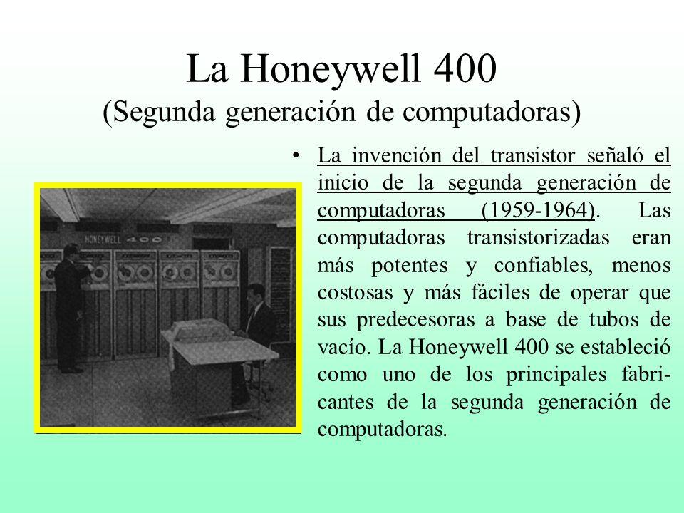 La IBM 650 No fué sino que hasta que la UNIVAC I tuvo éxito que la IBM se comprometió a de- sarrollar y vender computado- ras, participando en el merc