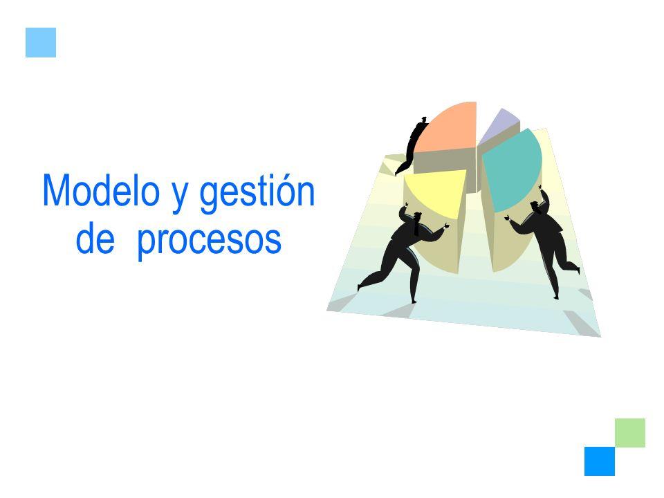 Modelo y gestión de procesos