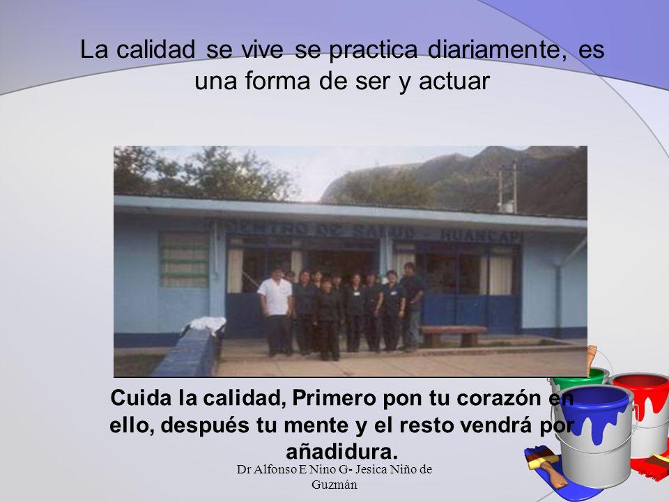 CAUSAS DE INSATISFACCIÓN Dr Alfonso E Nino G- Jesica Niño de Guzmán