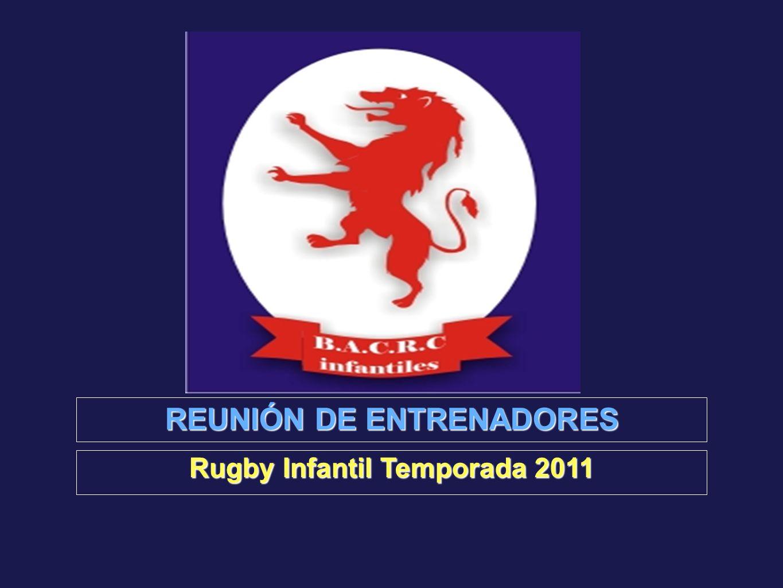 REUNIÓN DE ENTRENADORES Rugby Infantil Temporada 2011