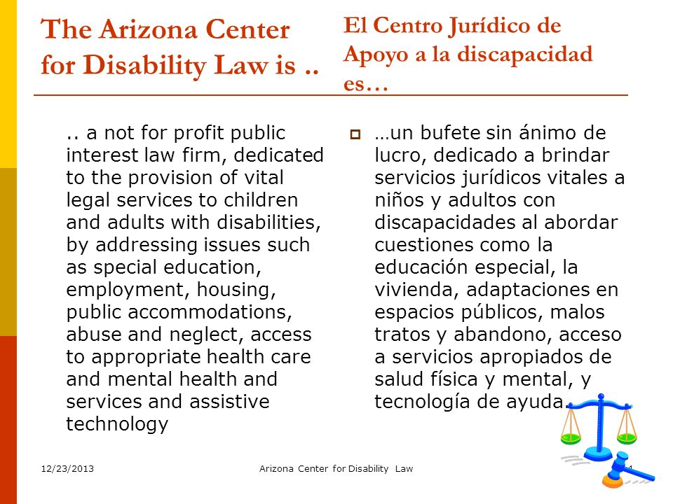 12/23/2013Arizona Center for Disability Law15 PRIOR WRITTEN NOTICE WRITTEN NOTICE….