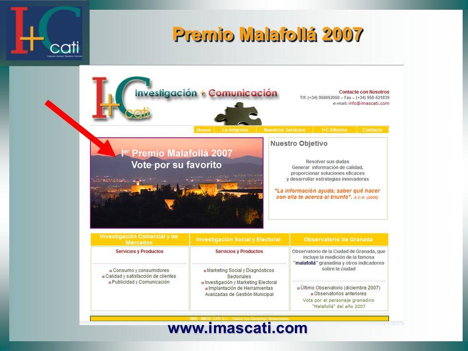 Premio Malafollá 2007 Premio Malafollá 2007 www.imascati.com