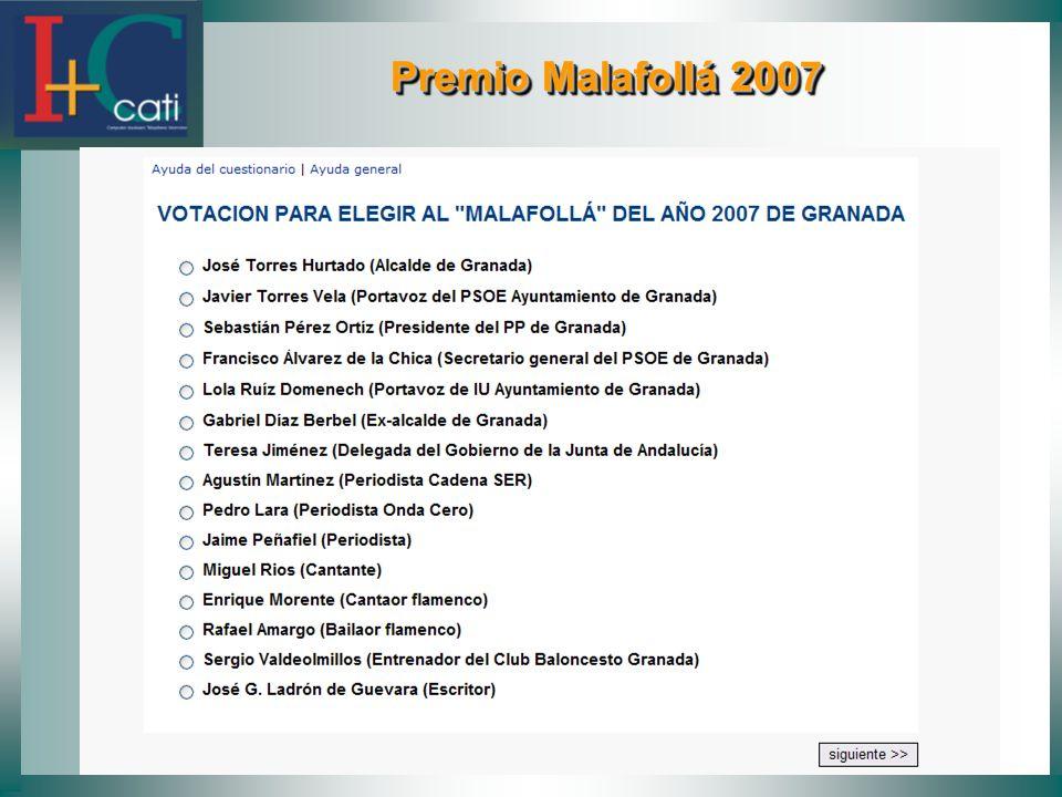 Premio Malafollá 2007
