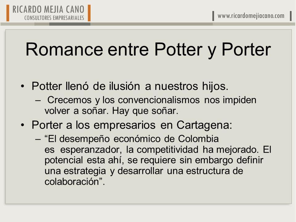 Romance entre Potter y Porter Potter llenó de ilusión a nuestros hijos. – Crecemos y los convencionalismos nos impiden volver a soñar. Hay que soñar.