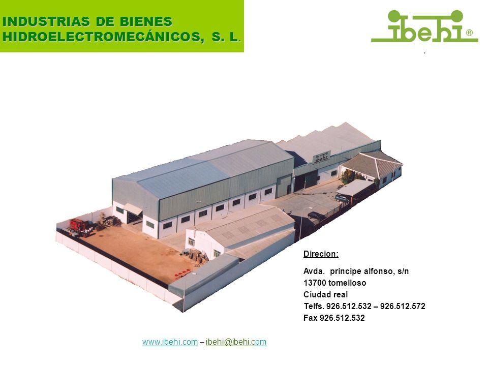 7 INDUSTRIAS DE BIENES HIDROELECTROMECÁNICOS, S.L.