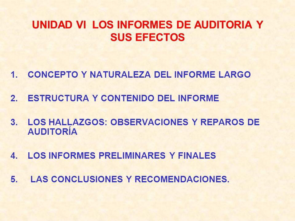 5.0 NATURALEZA Y OBJETIVOS DE LA AUDITORÍA INTERNA: A) ORGANIZACIÓN, AUTORIDAD Y RESPONSABILIDAD. B) LIMITACIÓN DE LA INDEPENDENCIA MENTAL. C) CAMPO D