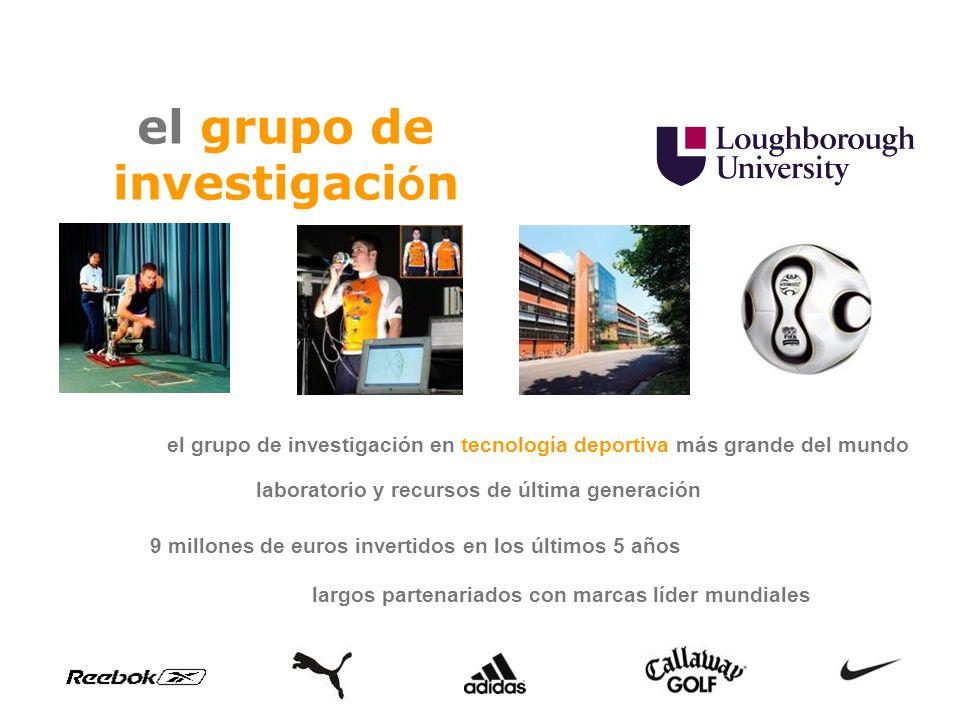 el grupo de investigaci ó n 9 millones de euros invertidos en los últimos 5 años el grupo de investigación en tecnología deportiva más grande del mund