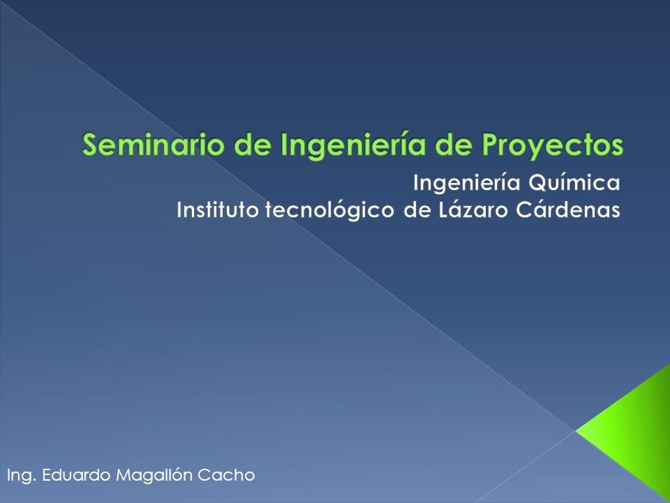 Seminario de Ingeniería de Proyectos ITLAC - Ingeniería Química 2.1 Diagramas de tuberia e instrumentacion