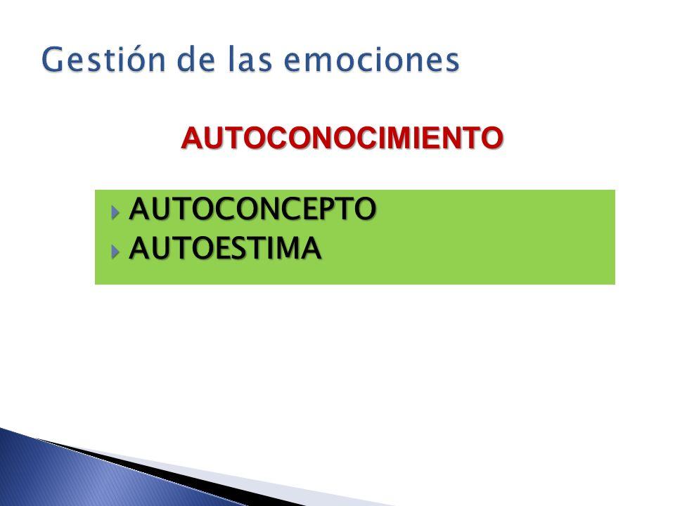 AUTOCONCEPTO AUTOCONCEPTO AUTOESTIMA AUTOESTIMA AUTOCONOCIMIENTO