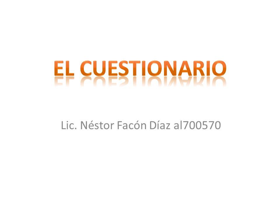 F.El Número de Preguntas.