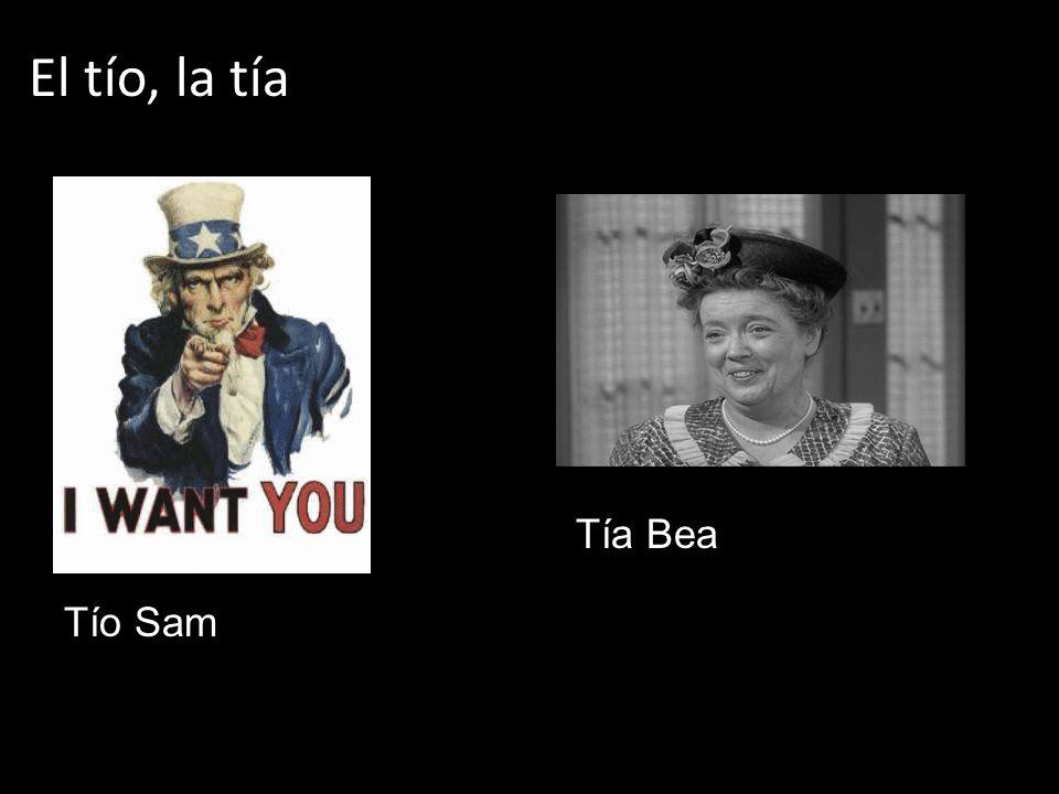El tío, la tía Tío Sam Tía Bea
