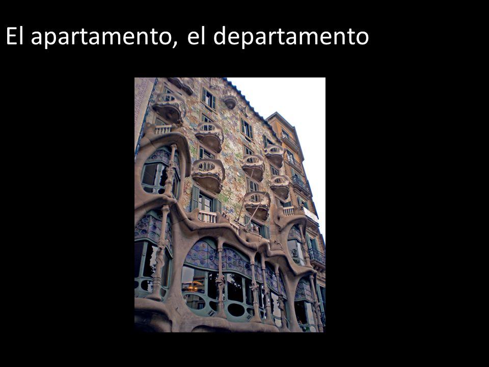 El apartamento, el departamento