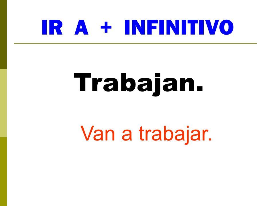 IR A + INFINITIVO Vais... Vais a ir...