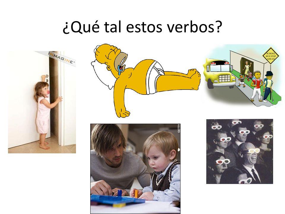 …¿y estos verbos?