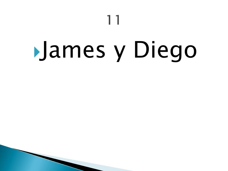 James y Diego