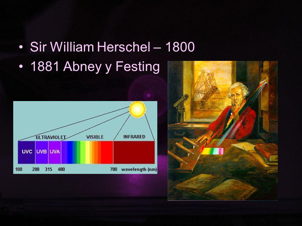 Fundamento La porción infrarroja del espectro electromagnético se divide en tres regiones; el infrarrojo cercano, medio y lejano, así nombrados por su relación con el espectro visible.
