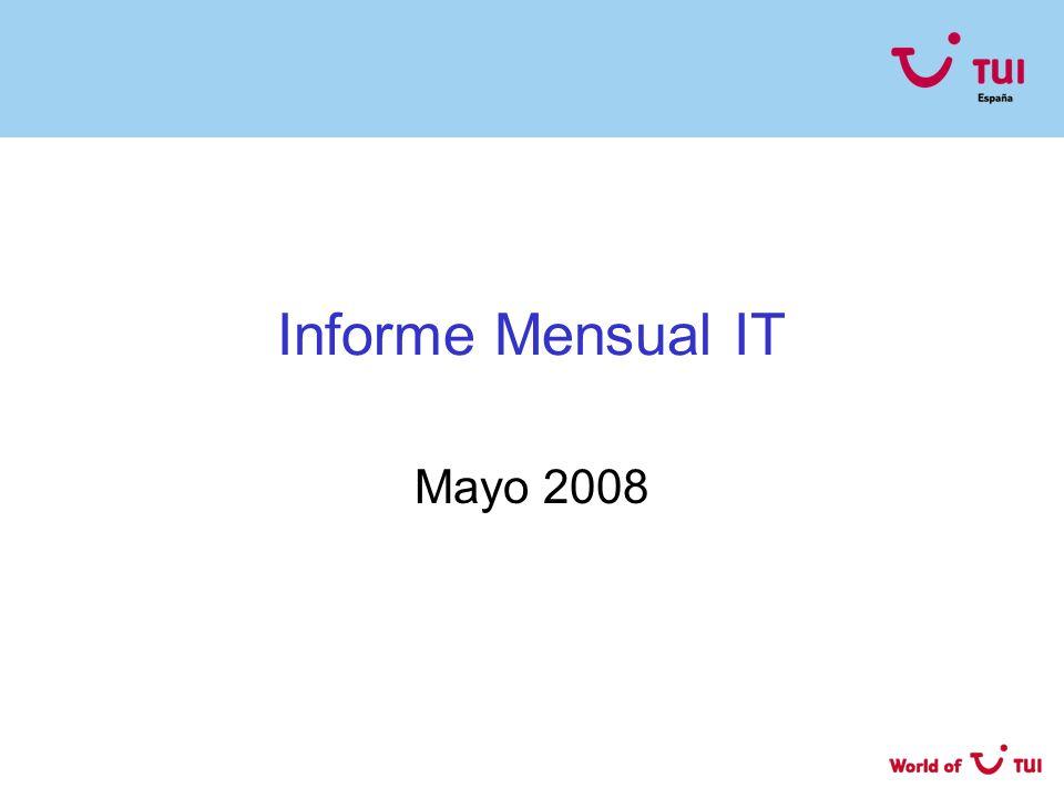 Informe Mensual IT Mayo 2008