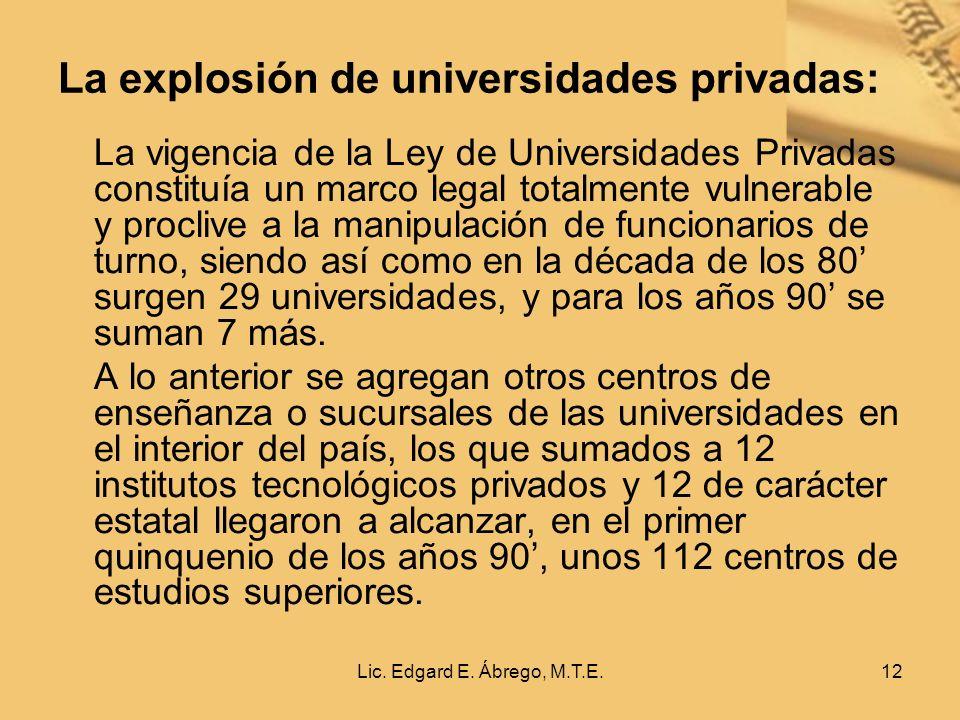 Lic. Edgard E.