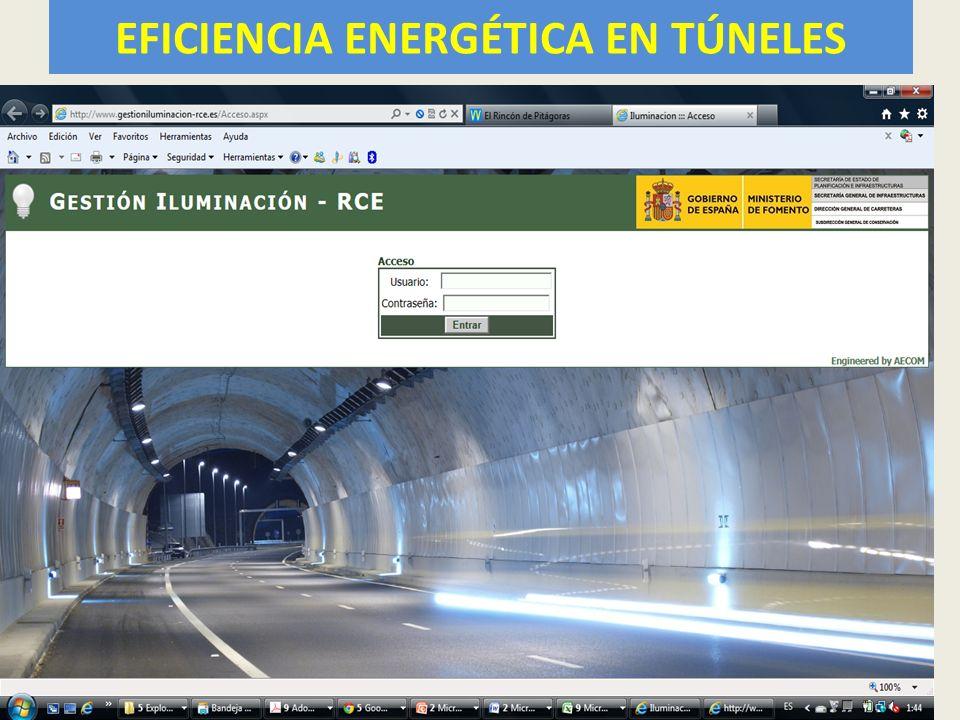 EFICIENCIA ENERGÉTICA EN TÚNELES 56