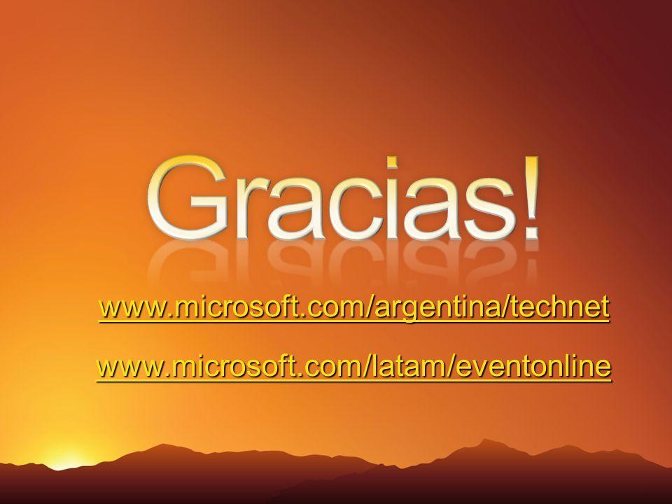 www.microsoft.com/argentina/technet www.microsoft.com/argentina/technet www.microsoft.com/latam/eventonline