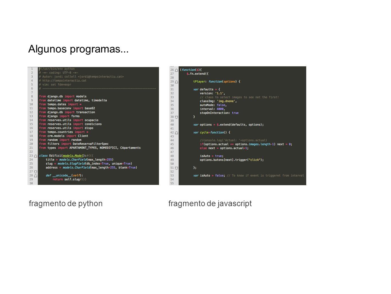 > Existen muchos lenguajes de programación: C, C++, Java, Perl, PHP, python, ruby, javascript, logo, basic, cobol....