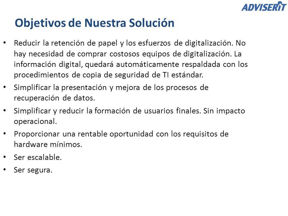 Reducir la retención de papel y los esfuerzos de digitalización. No hay necesidad de comprar costosos equipos de digitalización. La información digita