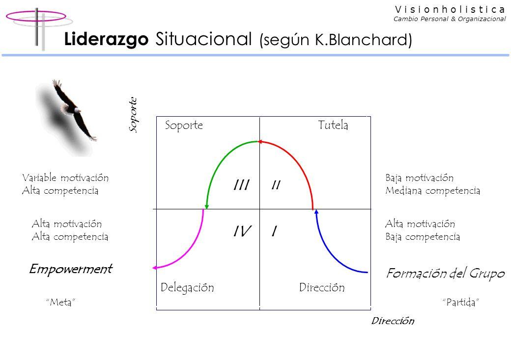 V i s i o n h o l i s t i c a Cambio Personal & Organizacional Estilos y productividad Productividad laissez-faire >10 10 >>40 Productividad > 40/suel