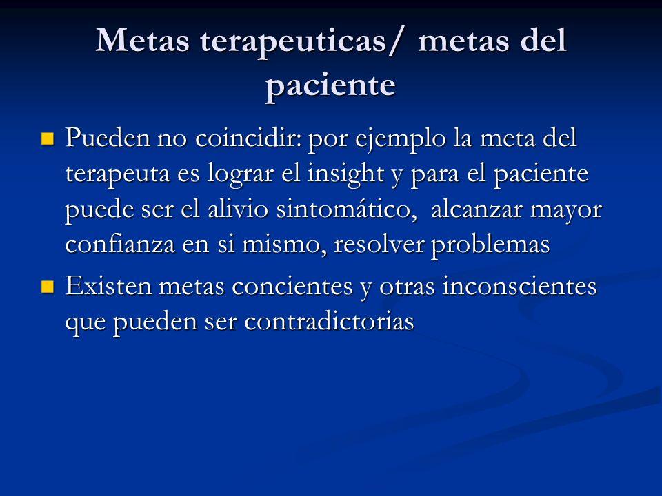 TERAPIA DE APEGO Se centra en 3 factores: contención (base segura); insight; y la nueva experiencia.