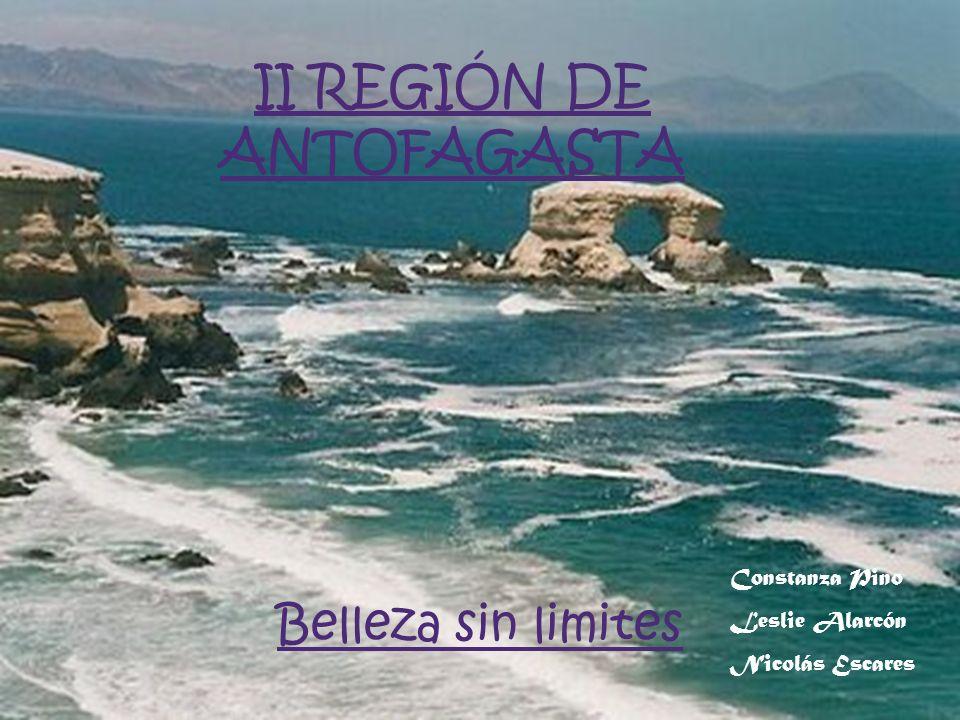 Belleza sin limites Constanza Pino Leslie Alarcón Nicolás Escares II REGIÓN DE ANTOFAGASTA