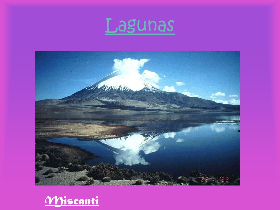 Lagunas Miscanti