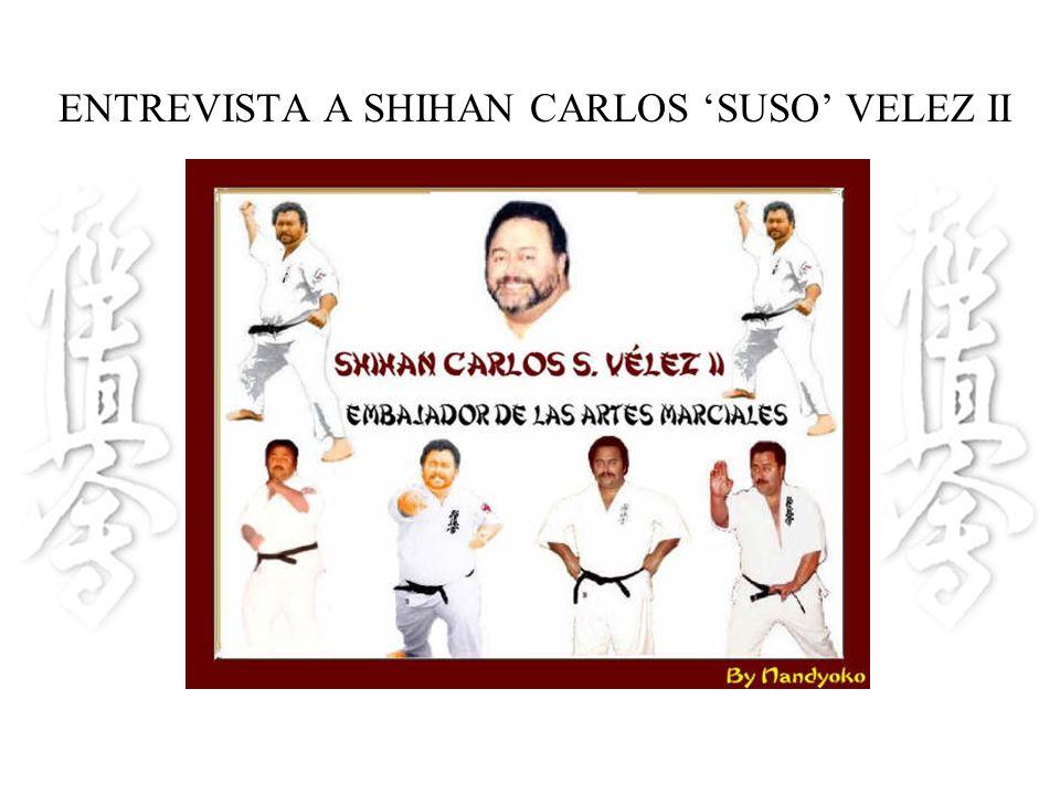 ENTREVISTA A SHIHAN CARLOS SUSO VELEZ II