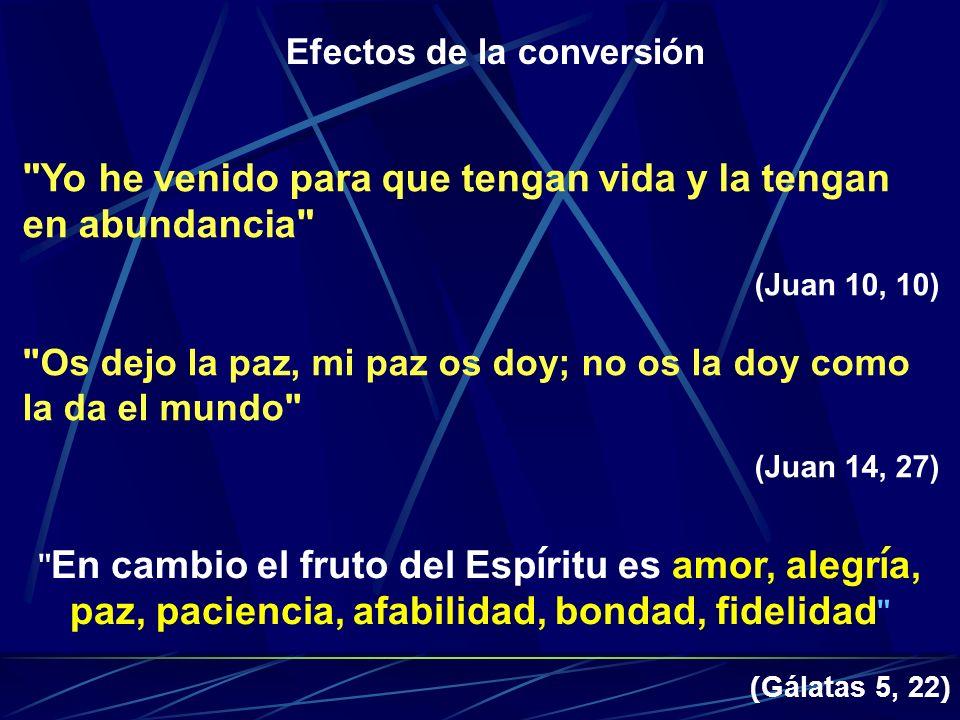 Efectos de la conversión