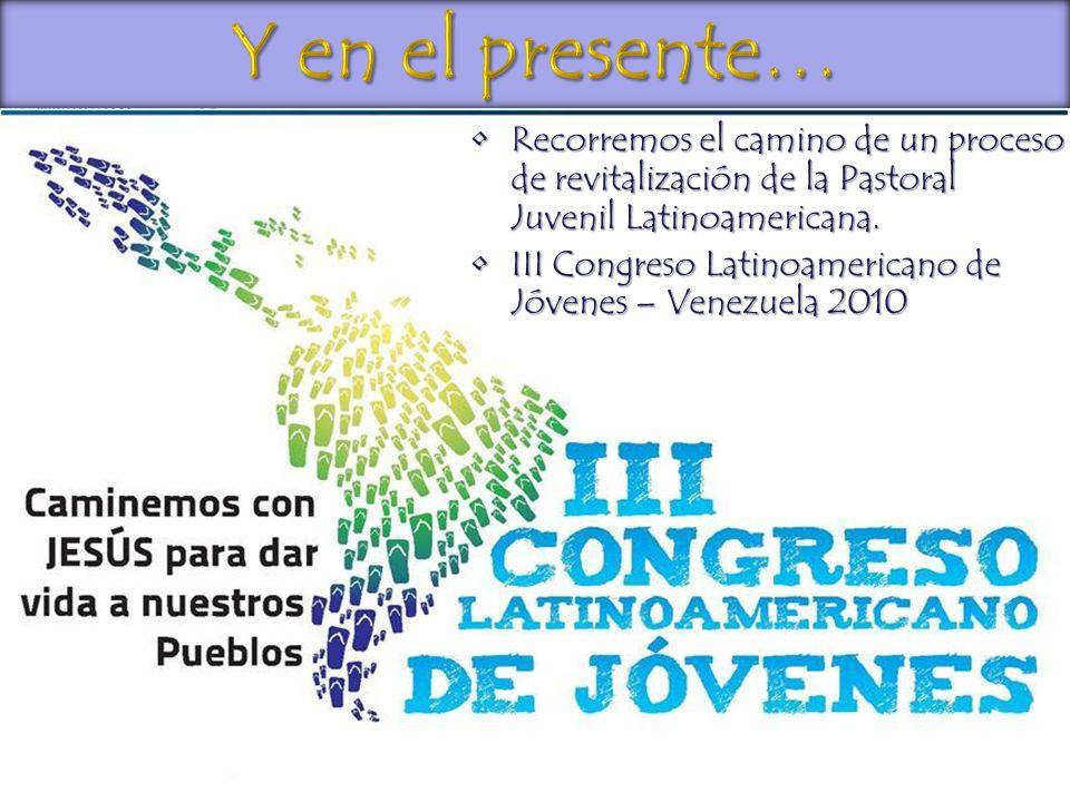 Recorremos el camino de un proceso de revitalización de la Pastoral Juvenil Latinoamericana.Recorremos el camino de un proceso de revitalización de la