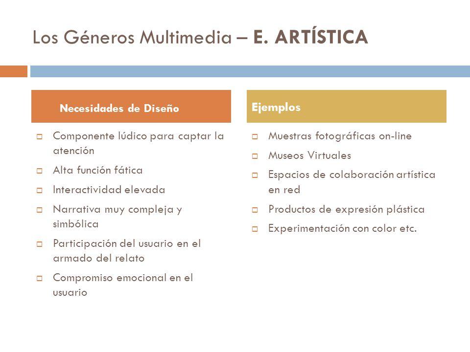 Unidad II Productos Multimedia La web 2.0