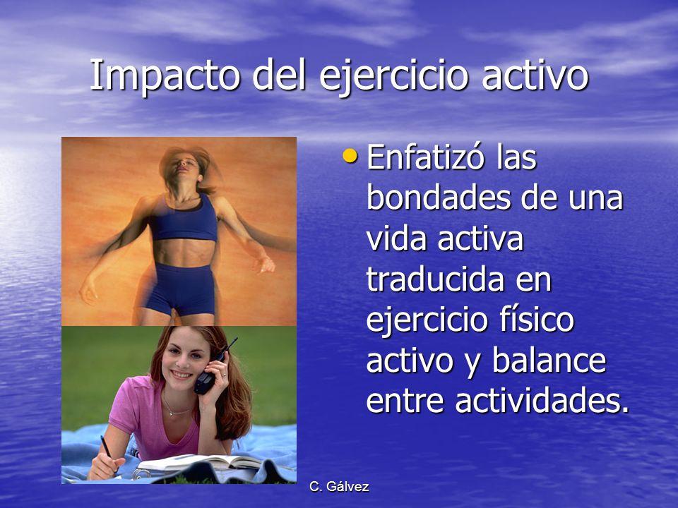 C. Gálvez Antioxidantes Puntualizó el consumo de frutas y verduras como: Puntualizó el consumo de frutas y verduras como: –parte del régimen alimentar