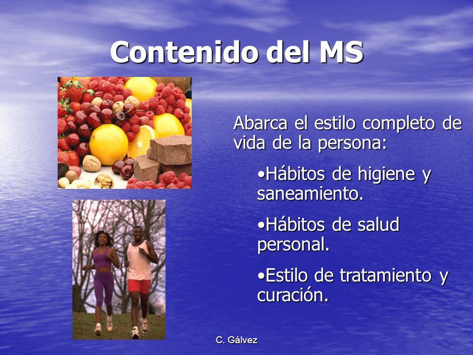 C. Gálvez Razones del Mensaje Adventista de Salud (MAS) La obra de la reforma pro salud es el medio que el Señor utiliza para aminorar el sufrimiento