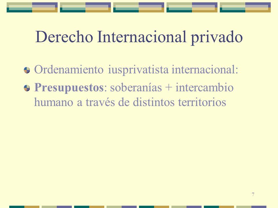 48 Derecho débil o softlaw Incoterms (Cámara de Comercio Internacional, CCI o ICC) Principios de UNIDROIT sobre contratos internacionales Uncitral
