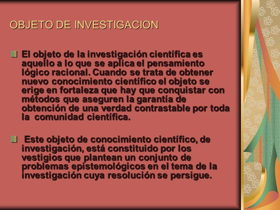 Problema de investigación PLANTEAR EL PROBLEMA DE INVESTIGACIÓN a.