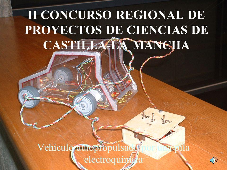 II CONCURSO REGIONAL DE PROYECTOS DE CIENCIAS DE CASTILLA-LA MANCHA Vehículo autopropulsado por una pila electroquímica