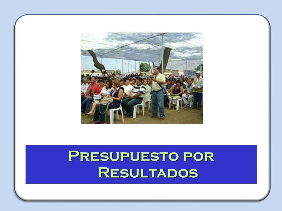 TALLER Capacitador: Jorge Luis Herrera Guerra Presupuesto por Resultados