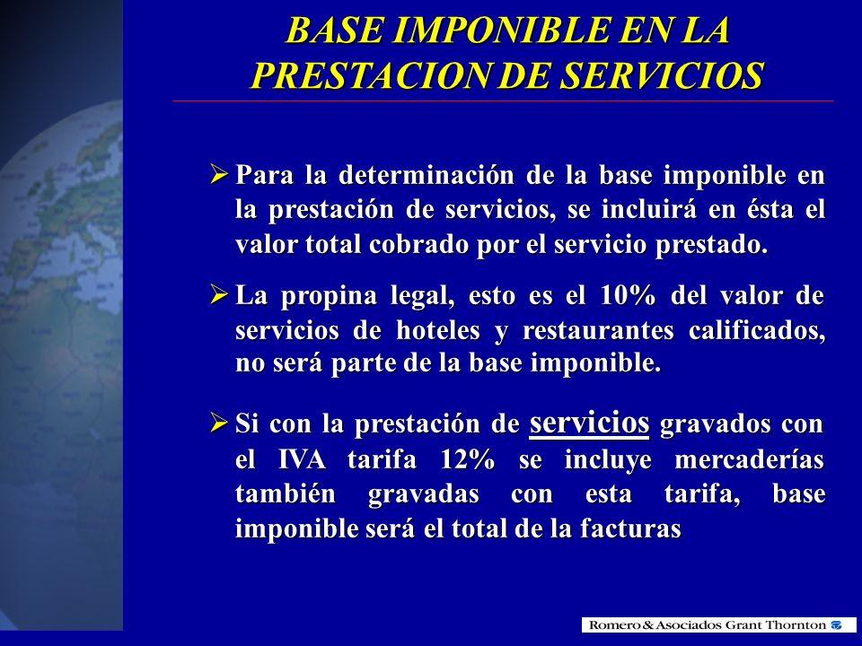 LIQUIDACION DE SERVCIOS CON EXCLUSION DE GASTOS Para la liquidación de servicios con exclusión de gastos reembolsables Para la liquidación de servicio