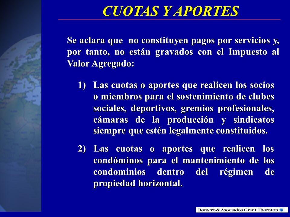 SERVICIOS EXPORTADOS Que el exportador del servicio sea una persona natural o sociedad residente o domiciliada en el país. Que el exportador del servi