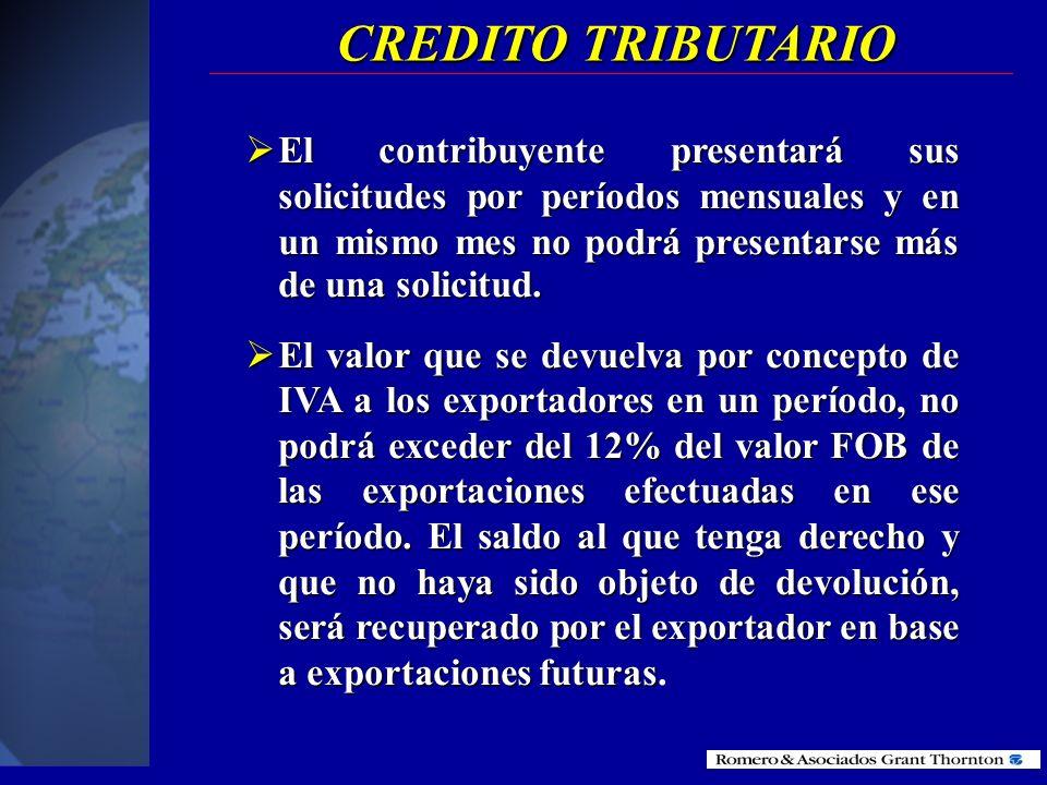 sujeto pasivo en su declaración, utilizará como crédito tributario la totalidad de las retenciones en la fuente que se le hayan efectuado por concepto