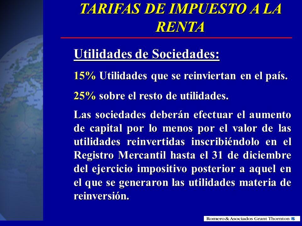 Conciliación tributaria: Utilidad del ejercicio 100 (-) Partic. trabajadores (15) (-) Partic. trabajadores (15) (-) Dividendos e ing. exentos (20) (-)