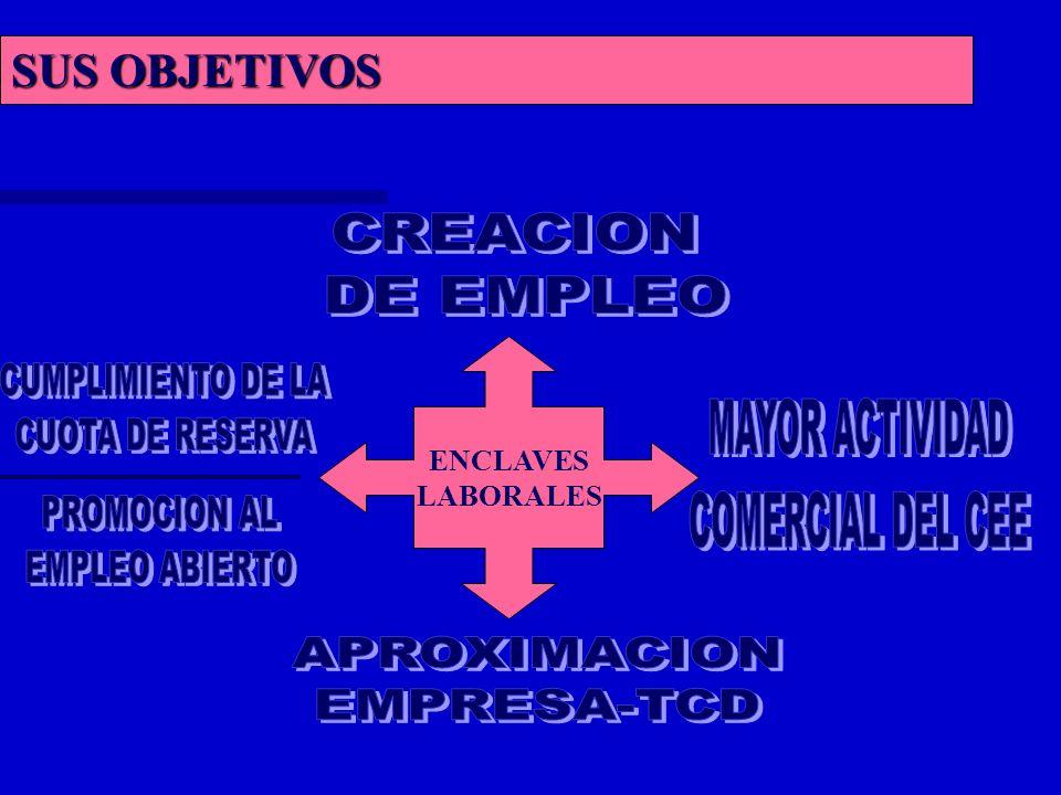 SUS OBJETIVOS ENCLAVES LABORALES