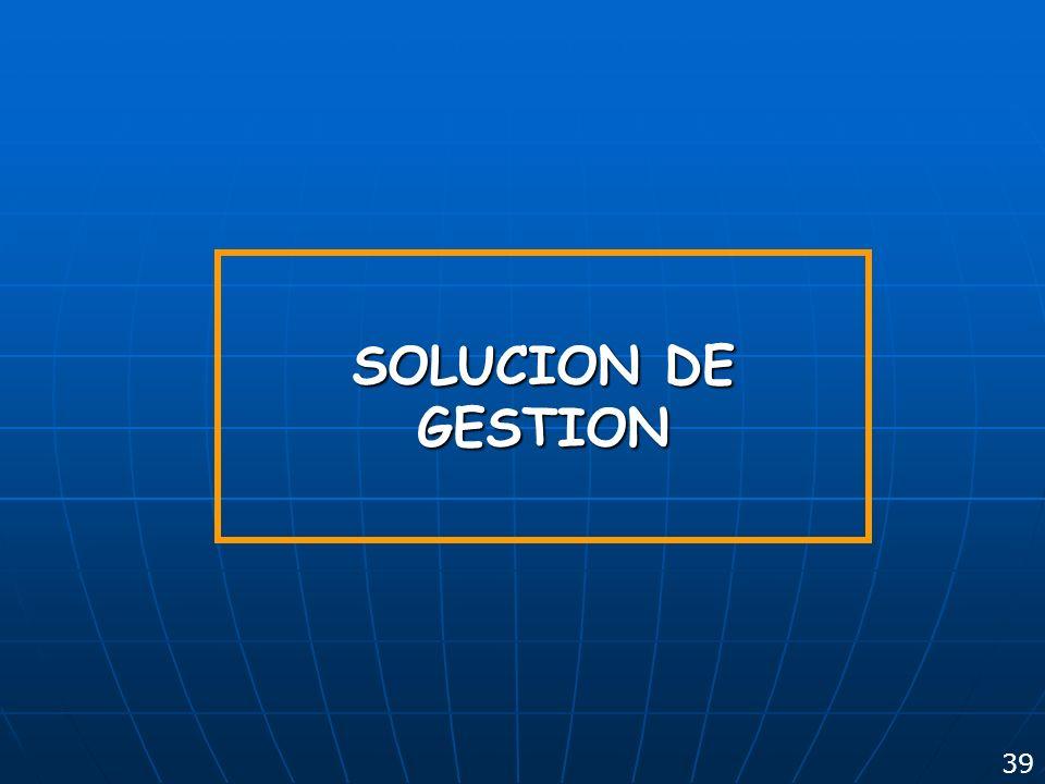 SOLUCION DE GESTION 39